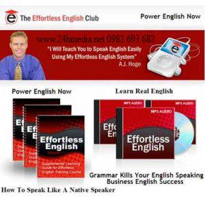 mua đĩa effortless english, mua dia effortless english